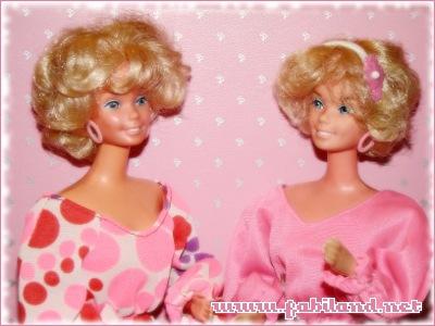 Barbie Pretty changes et tenue Bargain fashion 1026