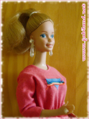 Barbie Pink n pretty en tenue Sindy