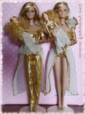 Barbie Golden dream et Dazzle