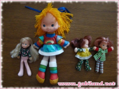 Honey Hill Bunch et Rainbow Brite