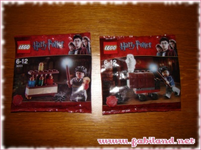 LEGO Harry Potter 30110 et 30111