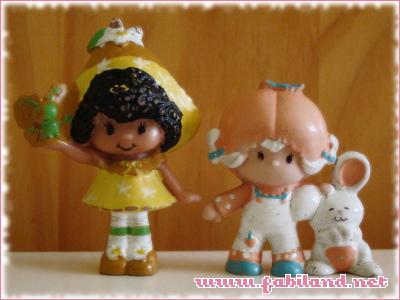 Figurines Charlotte aux Fraises